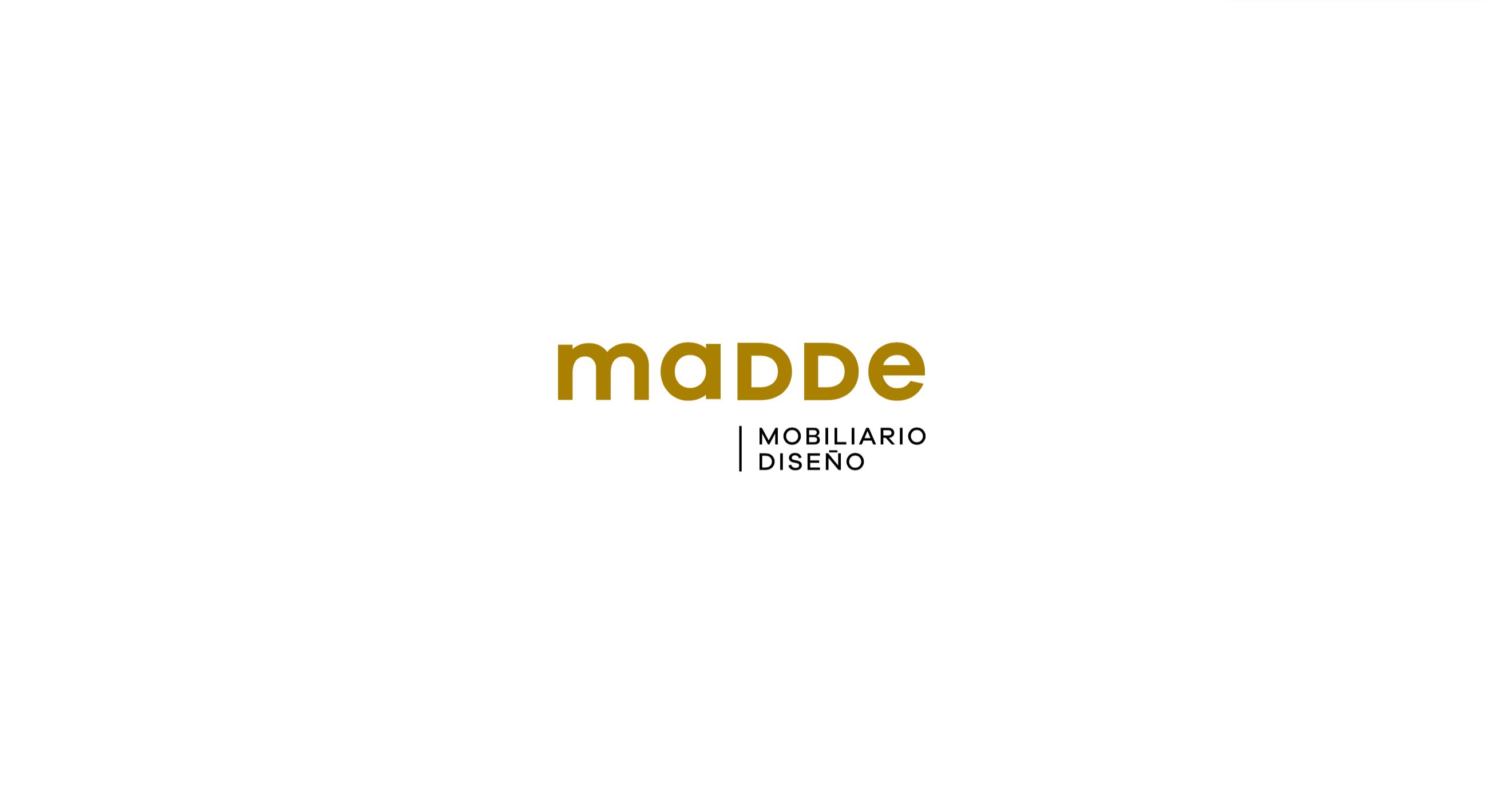 Diseño logo Madde